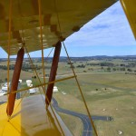 Tiger Moth Aerial View