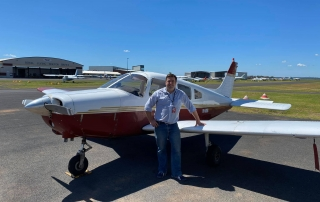 second new Private Pilot Licence holder for the week