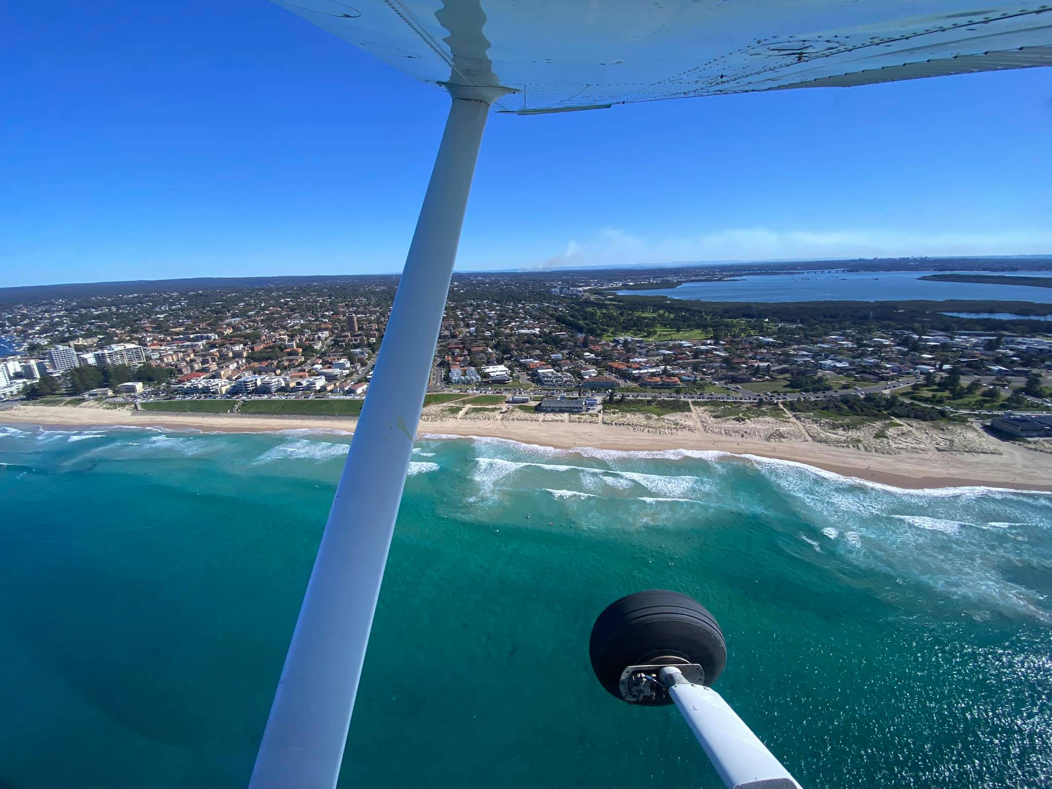 Thomas Aviation Flight School Cronulla Ocean