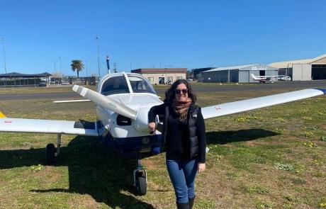 PPL flight test yesterday